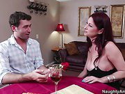 Tiffany Mynx is single and ready to mingle. The problem is that she did mingle at the speed dating session, but all of the guys she met are losers. She's ready to go home and just drown her sorrows in a bottle of wine when a young guy walks in, late for t