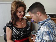Kris is late for his friend Amy's birthday party at her home and he finds her mom Deauxma, who tells him that Amy and her friends went down to the male strip club. There's no way he's going down there … but Deauxma decides that he can be the stripper for